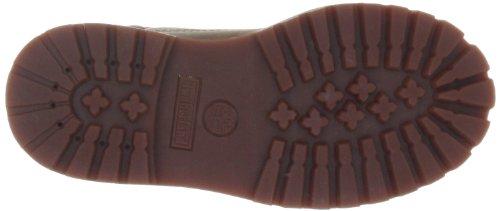 Timberland Authentic - Botas de senderismo de cuero para niño Marrón (Rust Smooth)