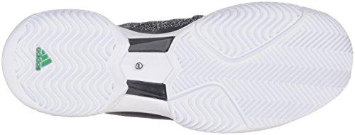 adidas Performance Damen ASMC Barricade Boost Tennisschuh Schwarz / Schwarz / Weiß
