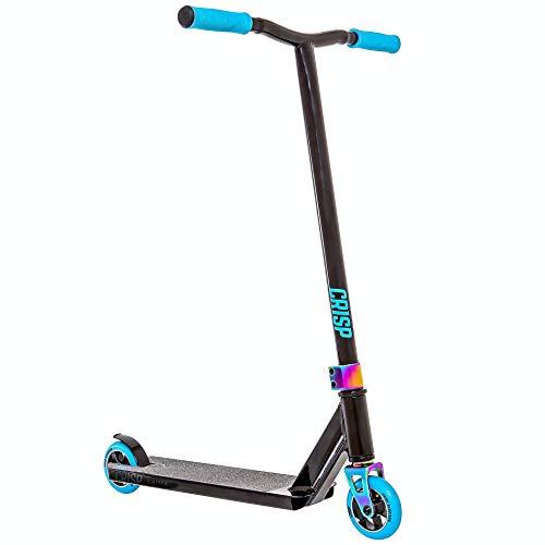 Scooter Crisp Switch Neo Chrome Pro (Negro Neo Azul)