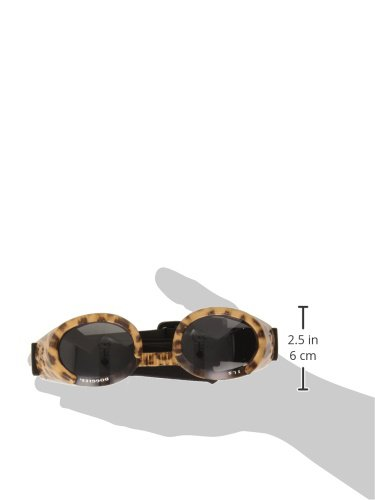 Doggles ILS Large Leopard and Smoke Lens Eyewear for Dogs