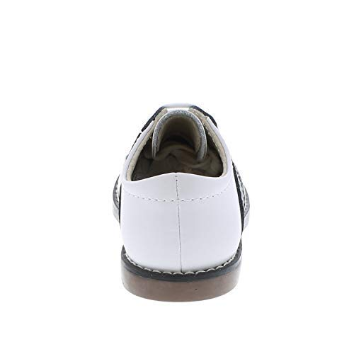 FootMates Unisex Cheer 3 (Infant/Toddler/Little Kid) White/Black Oxford 7.5 Toddler M/W by FOOTMATES (Image #7)
