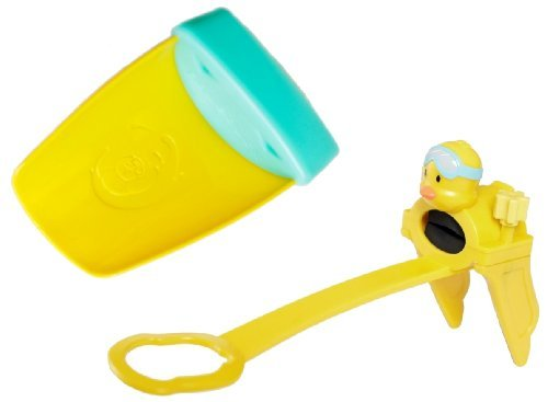 Aqueduck Child Faucet Extender with Single-Handle Extender, Aqua
