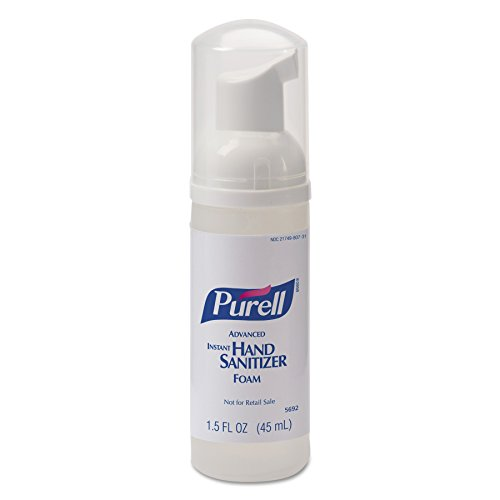 PURELL 569224 Advanced Non-Aerosol Foaming Hand Sanitizer, w/Moisturizers, 1.5oz Pump Bottle (Case of ()