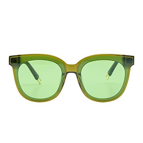 De De Redonda Gafas Rojo De frame Película Green Hombre Espejo De Conductor Espejo Espejo Marco FKSW Negro Negra green Sol Femenino Cara Conducción Sol Gafas De R5Wpc0q