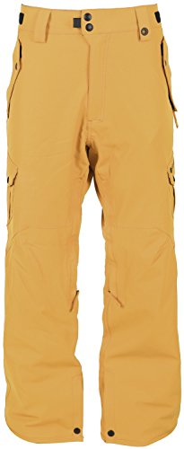 686 Defender Cargo Snowboard Pants Harvest Gold Mens Sz M