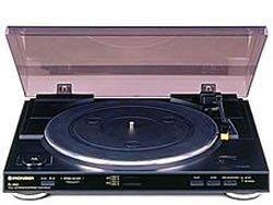 pioneer pl 990 turntable black hi fi speakers. Black Bedroom Furniture Sets. Home Design Ideas