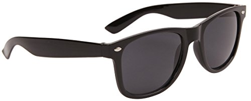 Lens Gloss Black Frame (Classic Wayfarer, Blues Brothers, Super Dark Smoke Lens Black Gloss Frame)