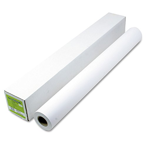 (HP Q1405B Designjet Inkjet Large Format Paper, 4.9 mil, 36