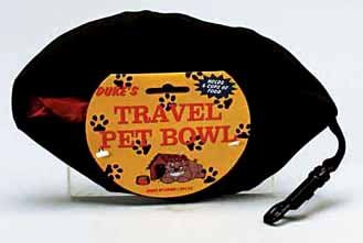 travel pet bowl