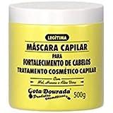 Máscara Capilar Fortalecimento Linha Fortalecimento 500 Grande, Gota Dourada