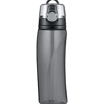 Thermos Intak 24 Ounce Hydration Bottle with Meter, Smoke