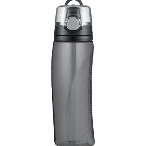 Thermos Intak 24 Ounce Hydration Bottle with Meter, Smoke (24 Hydration Ounce Bottle)