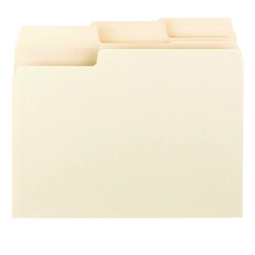 Smead Erasable SuperTab® File Folders, Erasable 1/3-Cut Tabs, Letter, Manila, 24 per Pack (10380) Photo #3