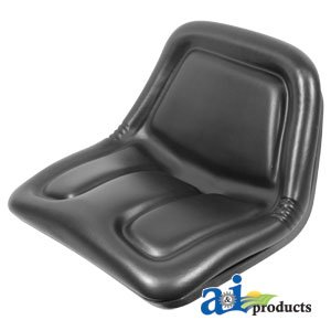 759-3149 Seat, High Back, Black Fits Cub Cadet:1204,1211,1340,1535,1541,1572, by A&I