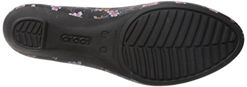 Pictures of Crocs Women's Lina Graphic W Wedge Pump Crocs Lina Graphic Wedge W 7