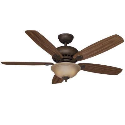 Hampton Bay Southwind 52 in.Venetian Bronze Ceiling Fan by Hampton Bay by Hampton Bay