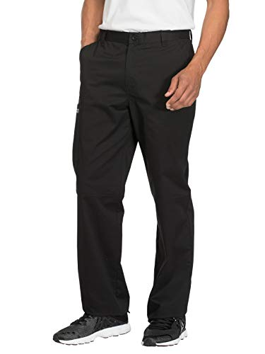Cherokee Workwear Core Stretch WW200 Men's Fly Front Pant Black 2XL