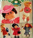 Cabbage Patch Kids, Butterick 3388 Sewing Pattern, Vintage 1985, Accessories, Bonnet, Shoes, Bib, Diaper, Bags