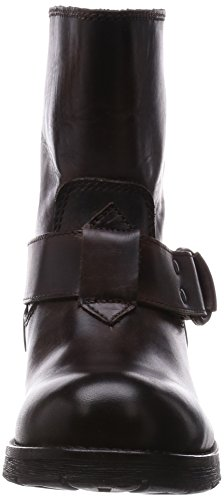 Diesel B-My Rock Kruiser Marron Femmes Cuir Chaussures Bottes