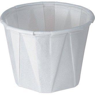 Winware desechables Salsa Plato – 28 ml. (28,4 ml). Cantidad