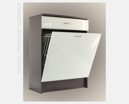 Charmant Wäscheschrank Badschrank Freshline Elegance Mocca/creme: Amazon.de: Küche U0026  Haushalt