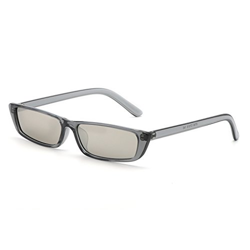 WANGXIAOLIN Plata La Sol De Conducción Hombres Gafas De De Gafas Masculina Sol De Moda Para Gris Color prBpwq