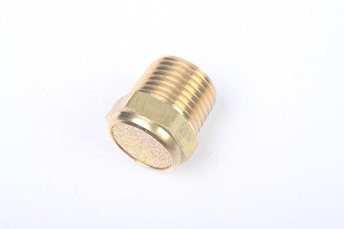Male Vent - Generic Pneumatic Sintered Bronze Air Breather Vent Muffler 1/2