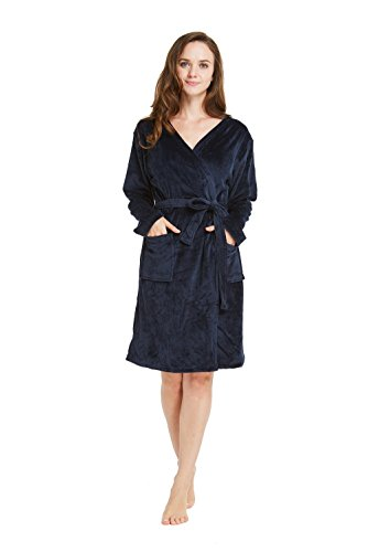 2bcedc81c2 TIMSOPHIA Firecos Soft Robes for Women
