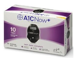 PTS Diagnostics A1C Now+ Multi-Test Blood Glucose Monitor...