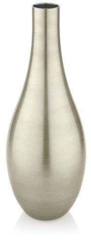 IVV Glassware Bombay Decoration Vase, 27-Inch, Beige