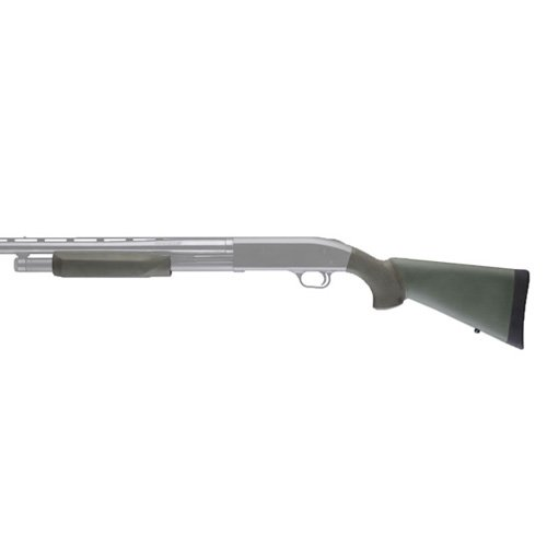 Hogue Mossberg 500 20 Gauge OverMolded Stock with Forend OD Green by Hogue