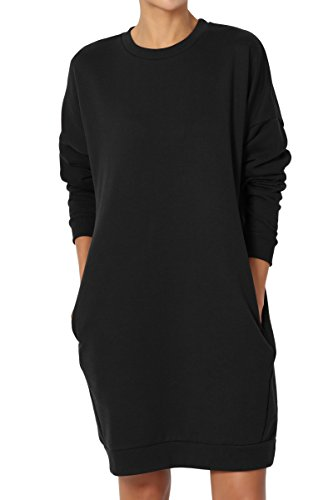TheMogan Sweatshirt Tunic