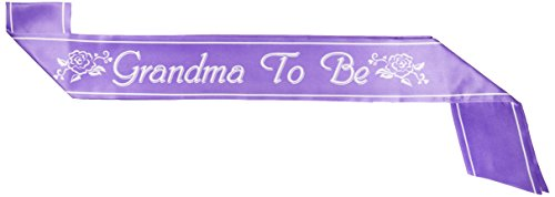 Grandma To Be Satin Sash Party Accessory (1 count) (1/Pkg) ()
