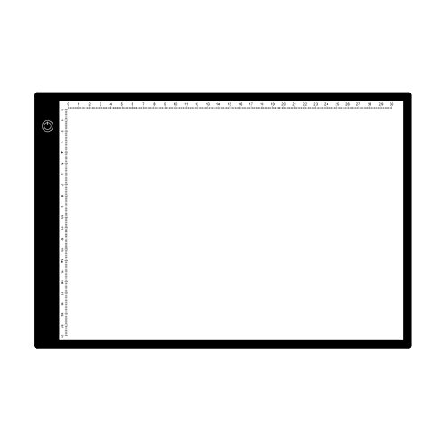 A4 LED Lightbox Board- 5-Volt Super-Bright Ultra-Thin 3/8