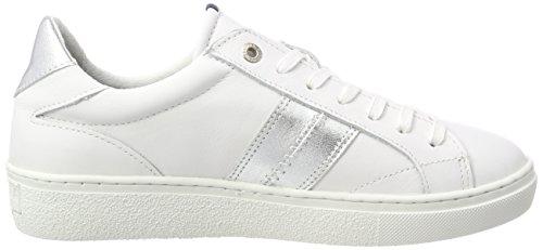 Gaastra Dame Kat Mødte Ctr W Sneaker Mehrfarbig (hvid-sølv) XG2zqRl