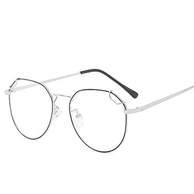 FeliciaJuan Adult Glasses The Restoring Ancient Ways The Blue Frames General Computer Goggles Men and Women