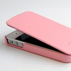 Hoco Duke - Funda con tapa para iPhone 5C (piel), color rosa