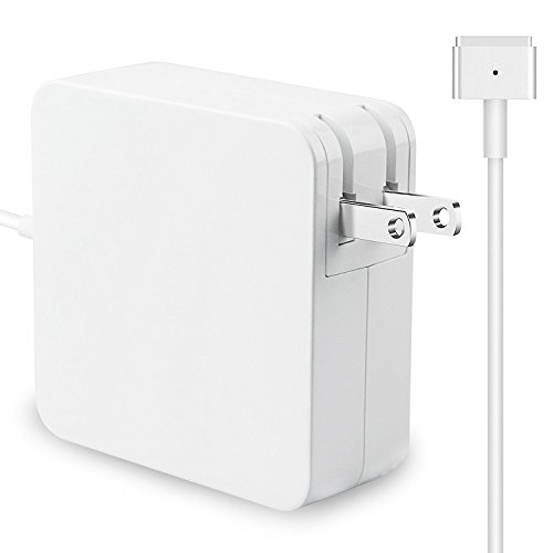 Macbook Air Charger, Replacement 45W Magsafe 2 Magnetic T-Tip Power Adapter Charger for Apple Macbook Air 11-inch and 13-inch