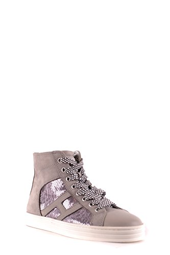 Hogan Damen Mcbi148420o Top Sneakers Leder Braun Hi