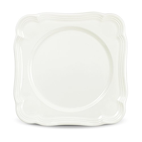 French Countryside Square Dinner Plate - Mikasa French Countryside Square Salad Plate
