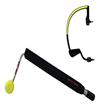 IMPACT SNAP Golf Swing Trainer And theHANGER Golf Training Aid Practice Kit