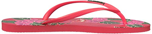 Pictures of Havaianas Women's Slim Floral Sandal Coral 9 M US 3
