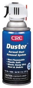 CRC Industries 14085 Dust Removal System With Trigger 8 oz Aerosol Can Colorless Duster™