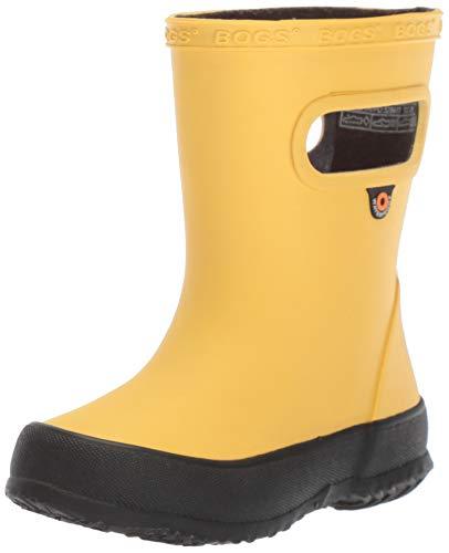 Bogs Kids Skipper Waterproof Rubber Rain Boot Boys Girls
