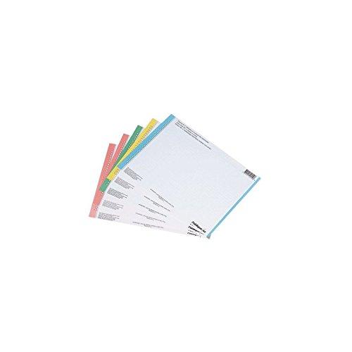 Elba 100330201 - Pack de 10 hojas 27 etiquetas para carpetas colgantes para armario Hamelin Brands