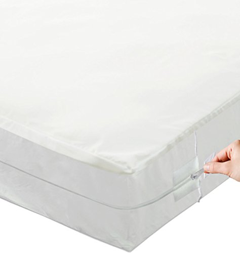 Mattress or box spring protector covers bed bug proof for Bed bug mattress and box spring protector