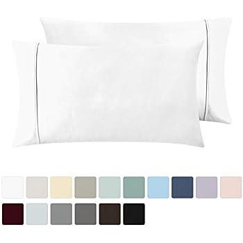 Amazon Com Amazonbasics 400 Thread Count Cotton Pillow