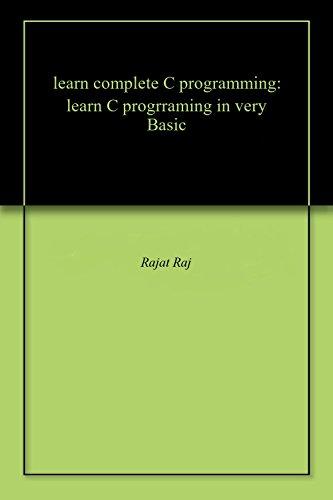 Complete C Programming Ebook