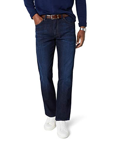 Wrangler Straight Arizona Morning Blu Classic cool Stretch Uomo Jeans qUvrqZa