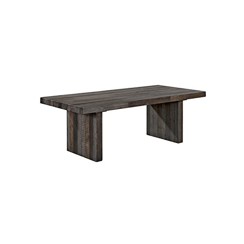 Cheap Moe's Home Collection Reclaimed Wood Dining Table, Large, Vintage (Gray)